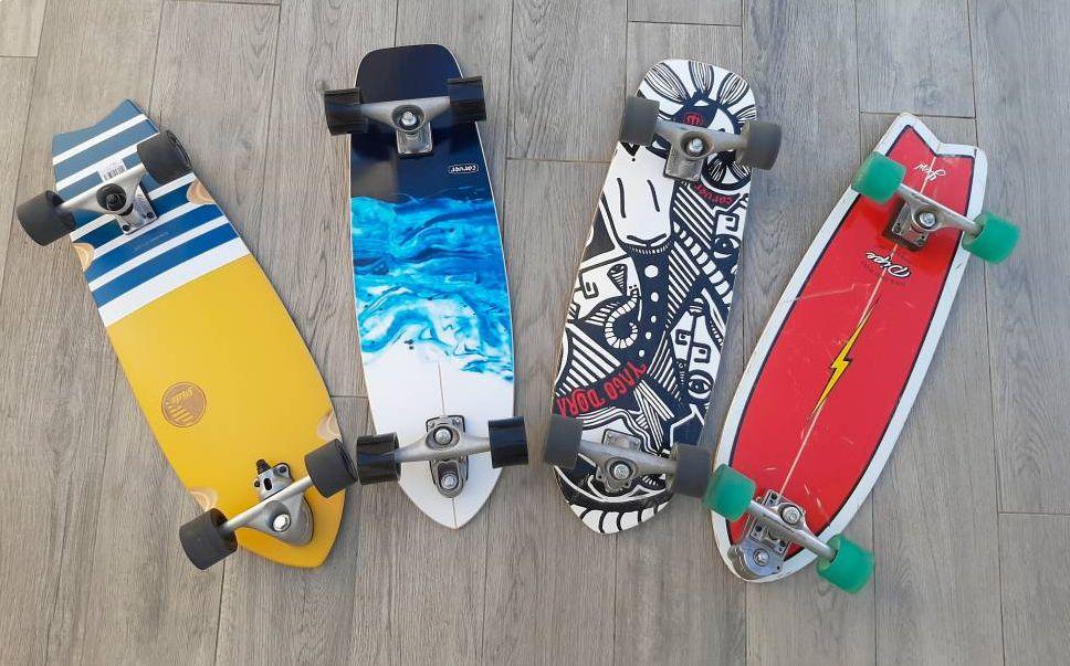Dstreet Surfskate Cut Back Longboard Unisex Adulto 31