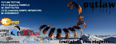 Flysurfer OUTLAW testival Campo Imperatore