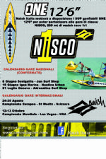 SUP classe NISCO con i Naish SUP ONE 12